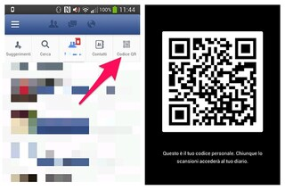 Facebook introduce i QR nell'applicazione per Android