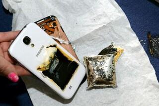 Galaxy S4 esploso, un nuovo caso in Inghilterra