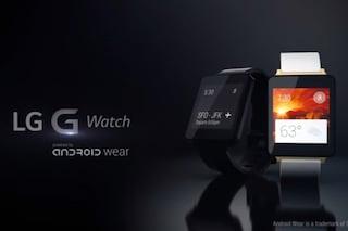 LG G Watch, la rivoluzione degli smartwatch con Android Wear è iniziata [VIDEO]