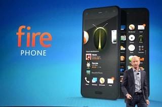 Ecco il Fire Phone, lo smartphone di Amazon riconosce tutto e sa cosa vuoi guardare