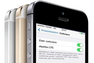 In iOS 8, arriva (finalmente) la compatibilità con l'LTE di Wind