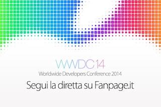 WWDC 2014: OS X 10.10, iOS 8 e tutte le novità presentate da Apple al Keynote di San Francisco [DIRETTA CONCLUSA]