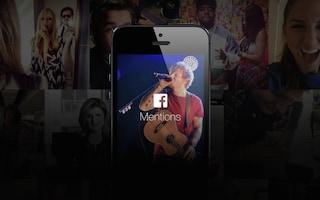 Facebook introduce Mentions, l'app per le celebrità