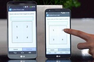 Knock Code, gli smartphone di LG si sbloccano con i tocchi e proteggono la privacy