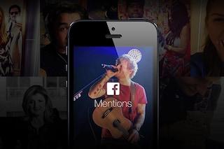 Facebook Mentions è disponibile anche nell'App Store italiano