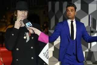 """Robbie Williams contrattacca Liam Gallagher: """"Senza Noel hai perso il leader"""""""