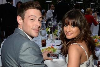 """Ti amo piccola"": Lea Michele canta le ultime parole di Cory Monteith"