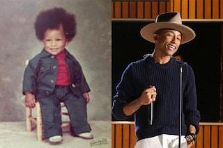 Pharrell Williams ieri e oggi, prima di essere il Re Mida del pop (FOTO)
