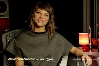 Alessandra Amoroso e Make-A-Wish insieme per realizzare i sogni dei bambini malati