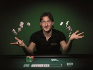 Totti testimonial di Party Poker