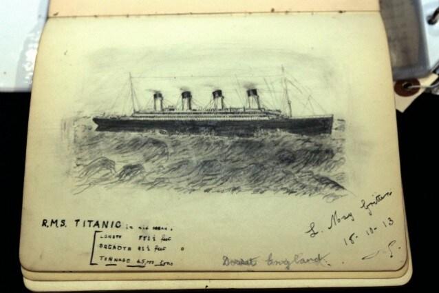 naufragio del titanic belle epoque