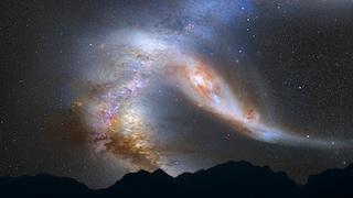 Quando la galassia di Andromeda si scontrerà con la Via Lattea