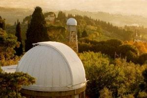 L'Osservatorio Astronomico di Arcetri, vicino Firenze, dove la Hack ha lavorato alla sua tesi di laurea.