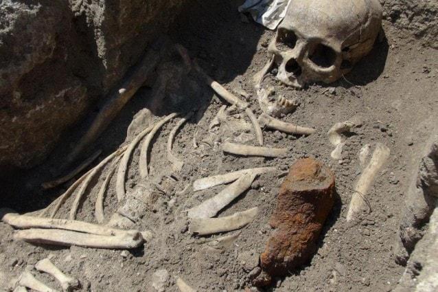 scheletri di vampiri