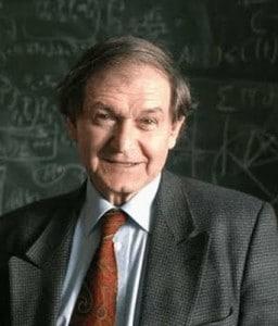 Sir Roger Penrose.