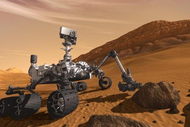 l viaggio di Curiosity verso Marte