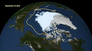 Artico, record negativo per lo scioglimento dei ghiacciai