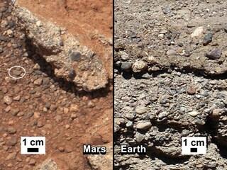 Curiosity e i fiumi di Marte
