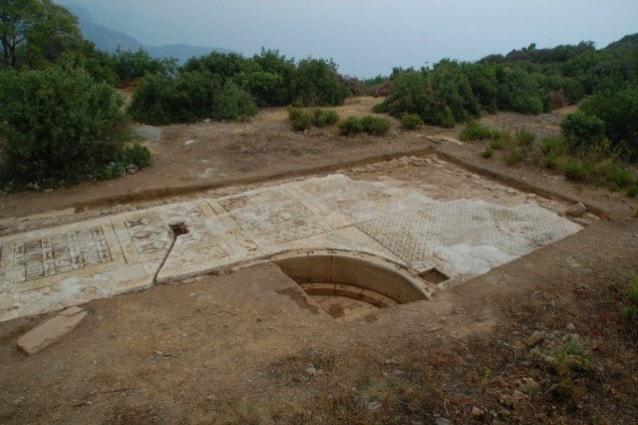 Turchia un mosaico romano torna alla luce