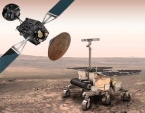 La missione ExoMars sarà costituita da un orbiter lanciato nel 2016 e un rover che atterrerà nel 2018.