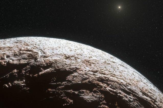makemake pianeta nano senza atmosfera