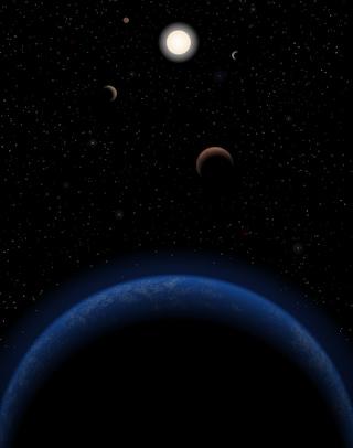 Cinque pianeti intorno a Tau Ceti
