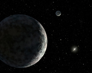 Eris, il pianeta-nano che potrebbe spiegare la materia oscura