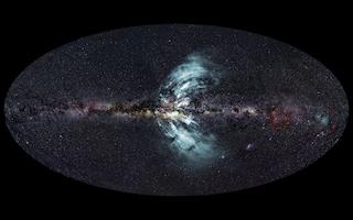 Geyser giganteschi emessi dal centro della galassia