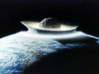 L'asteroide che aprì un cratere di 500 km sulla Terra