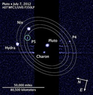 Vulcano e Cerbero, decisi i nomi delle due nuove lune di Plutone