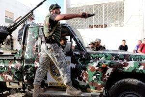 militari in Libia
