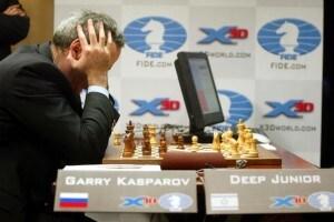 Kasparov Versus Deep Junior