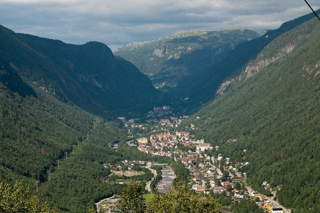 Rjukan, Norvegia