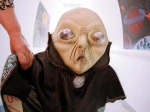 Un manichino di alieno a Roswell
