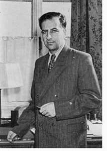 Bruno Pontecorvo prima del trasferimento in URSS.
