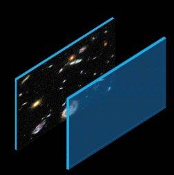 Il nostro universo sarebbe così: una brana tridimensionale che fluttua in un multiverso a quattro dimensioni o più.