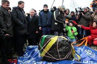 Pescato un meteorite dal fondo di un lago russo
