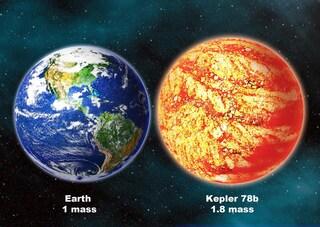 Kepler 78b, il pianeta che somiglia alla Terra