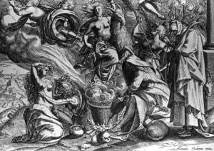 L'accusa rivolta alle streghe spesso era quella di aver avuto rapporti con il diavolo sotto forma di capra
