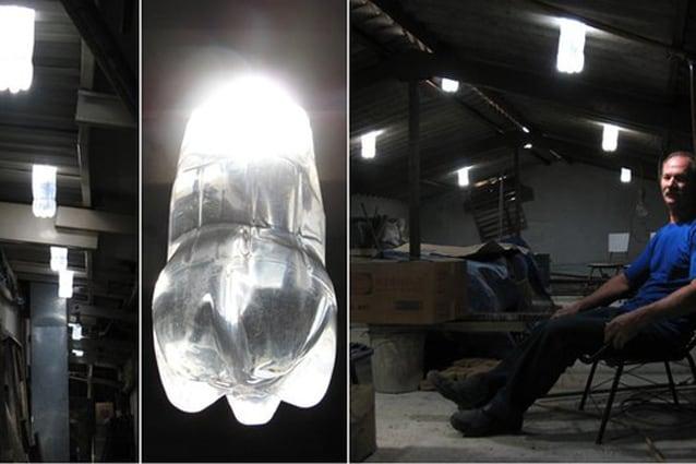 La lampada ad acqua che non vuole elettricità video