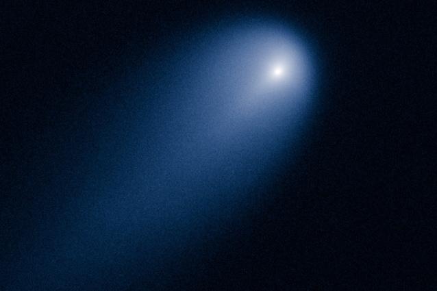La cometa Ison ripresa dal telescopio Hubble.