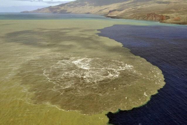 Eruzione subacquea a El Hierro nelle Canarie.