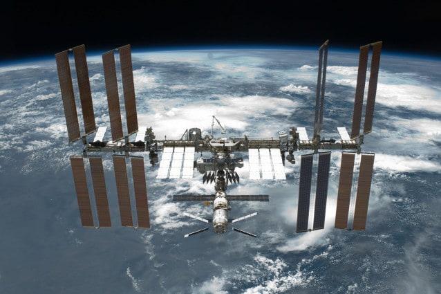 Stazione Spaziale Internazionale fotografata dalla Nasa.