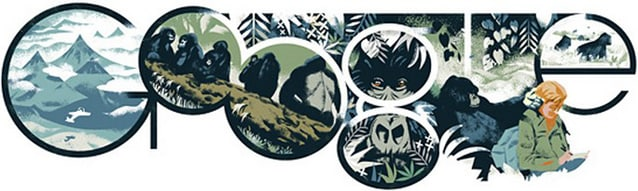 Google omaggia così Dian Fossey