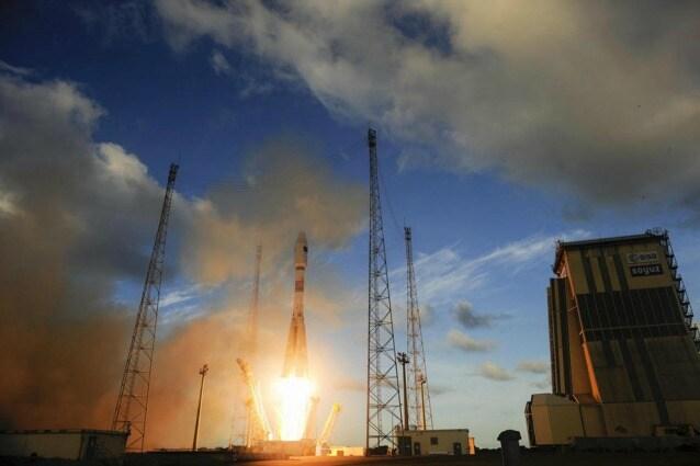Il lancio di Sentinel–1A da Kourou, 3 aprile alle ore 21:02 (GMT)