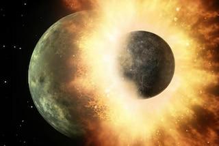 L'impatto che originò la Luna