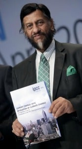Rejendra Pachauri, presidente dell'IPCC