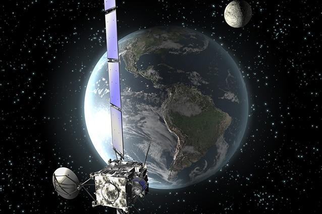 Rappresentazione della sonda Rosetta.
