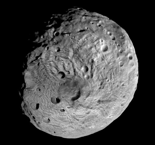 Il polo sud di Vesta fotografato dalla sonda Dawn