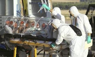 La mappa dei paesi africani a rischio di Ebola
